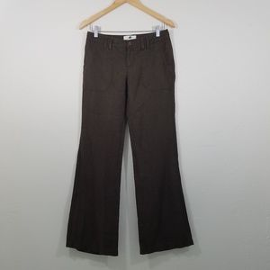 Banana Republic Organic Linen Wide Leg Pants Sz 2